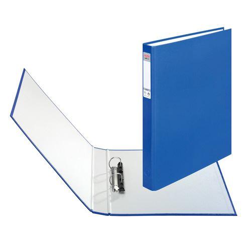 Gyűrűs könyv Herlitz A4 (2-gyűrűs) 4 cm kék