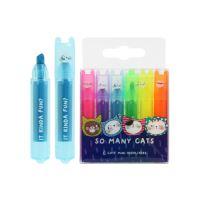 Szövegkiemelő készlet  M&G Mini Neon - 6 db szín