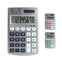 MILAN számológép 8 számjegyű zseb ezüst