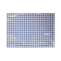 Asztal terítő 65x50 cm kék-fehér