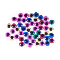 Dekoráció  mozgó szemek  mix szín 50 db 10 mm