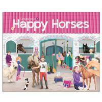 Kreatívfüzet Horses Dreams / Happy Horses matricákkal