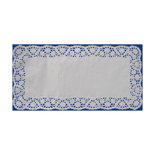 Csipke dekoráció. négyzet 15 x 24 cm (100 db csomagonként)
