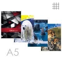 Butikkönyv A5, kockás - 96 lapos