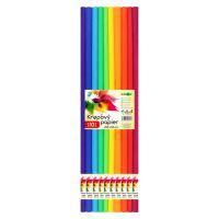 Krepp papír  JUNIOR - készlet SPECTRUM 10 db, 50x200 cm