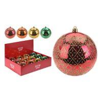Karácsonyfagömb - PP vegyes színek 100 mm, 1db