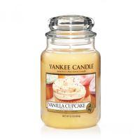 Sviečka Yankee Candle - Vanilla Cupcake, veľká