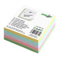 Írótömb nem ragasztott - színes/pastel 85x85 mm/500 lap