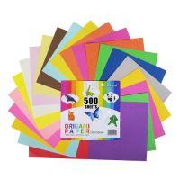 Origami papír 15x15 cm 80g 500-20 vegyes
