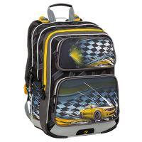 Školský batoh GALAXY 9 D Black/Yellow