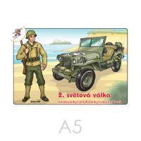 Kifestő A5 2. világháború