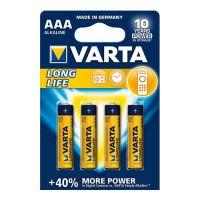 """Mikrobatérie """"Longlife Extra"""" LR03, AAA, 4 ks"""