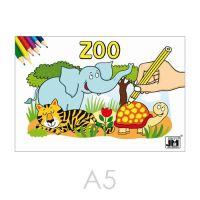 Kifestő JM A5 Zoo