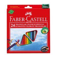 A Faber-Castell színes ceruzák 24 árnyalatúak