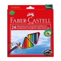 Faber-Castell színes ceruza  készlet 24 db  hegyezővel