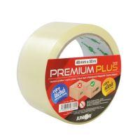 Lepiaca páska 48 mm x 50 m - PREMIUM PLUS 45 mic, transparentná
