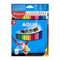 "Színes ceruzák - akvarell MAPED ""COLOR`PEPS"", 18 db + kefe"