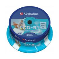 CD-R Verbatim 43432 DataLife Plus, 52x, 700 MB / 80 MIN, 25 csomag