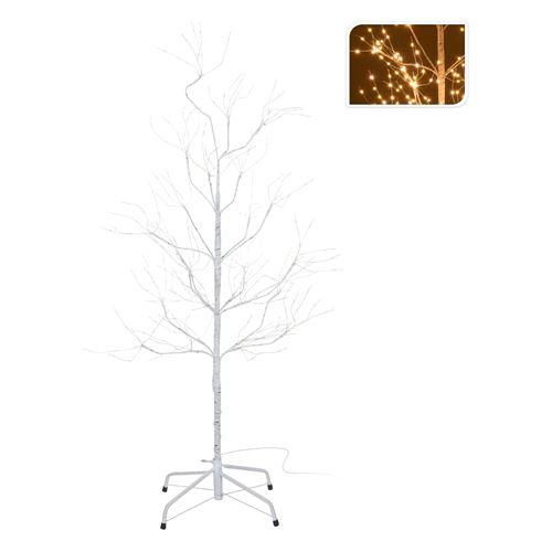 Stromček - svietiaci 390 LED teplá biela, 120 cm