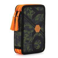 Peračník 2-poschodový/bez výbavy OXY Army Orange