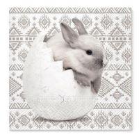 Szalvéta TaT 33x33 cm Chick Rabbit