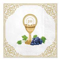 Obrúsky PAW 33x33cm Communion Day