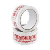 Ragasztó szalag  Fragile, 48 mm x 66 m