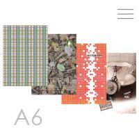 Butikkönyv A6, vonalas - 96 lapos, Office design