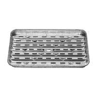 Alu grill tálca 34,4 x 22,4 cm, 5 db