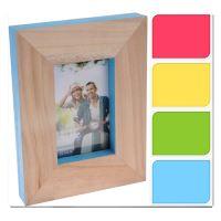 Fotorámček 10x15 cm - drevený, 1 ks