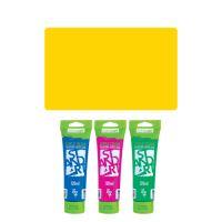 Akrylfesték JUNIOR 120 ml sárga medium 120