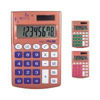 MILAN számológép 8 lyukú zseb réz