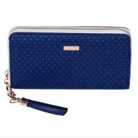 Peňaženka dámska Blue Triangles - veľká