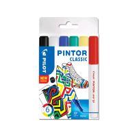"""Dekormarker készlet, 1,4 mm, PILOT """"Pintor Classic 6 különböző divatszín"""
