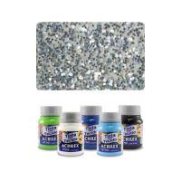 ACR Textil szín 37ml, csillogó ezüst