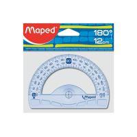 "Szögmérő MAPED ""GRAPHIC"" szög 180 °, műanyag, 12 cm"