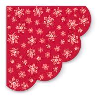 Szalvéta PAW R 32 cm Stars Everywhere / Red/