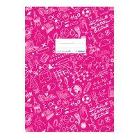 Schooldoo A5 rózsaszín / 1db borító