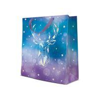 Ajándéktasak PAW Reflex Geometric Deer, medium -20x25x10 cm