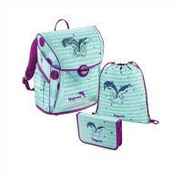 Iskolai táska - 3 részes készlet, Baggymax Fabby Dolphins