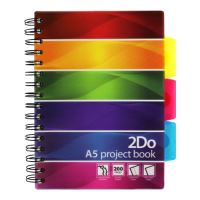 Project Book A5/200 oldalas, vonalas