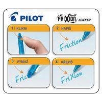 Roller zselés PILOT Frixion Clicker 0,7 kék