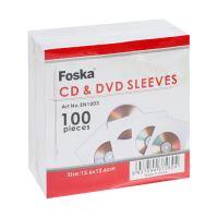 CD boríték 126x126 mm FOSKA 100 db