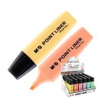 Szövegkiemelő  M&G Pastel, vegyes színek