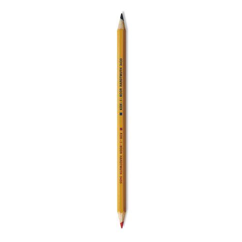 Színes ceruza KOH-I-NOOR Fringe, piros-kék, 1 db