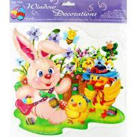 húsvéti dokoráció ablakfólia STEG-6001