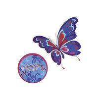Matrica készlet Butterfly, 2 db