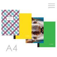 Butikkönyv A4, sima - 96 lapos