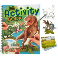 Omaľovánka Dino World Activity Book