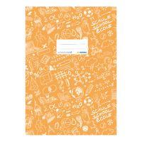 Fedél a notebook Schooldoo A5 narancssárga / 1db